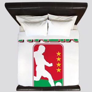 Italian World Cup Soccer King Duvet