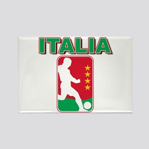 Italian World Cup Soccer Rectangle Magnet
