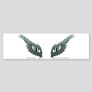 Dragon Eyes Bumper Sticker