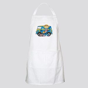 Hippie Girl and Camper Van Apron
