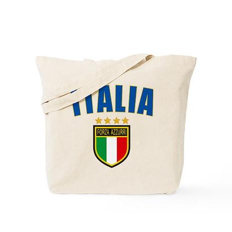 Italian World Cup Soccer Tote Bag