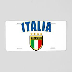 Italian World Cup Soccer Aluminum License Plate