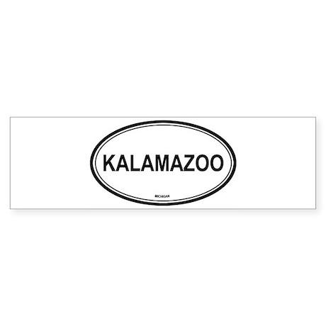Kalamazoo (Michigan) Bumper Sticker