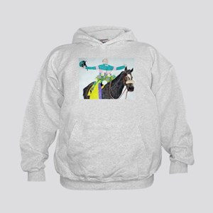 Mike Smith and Zenyatta Kids Hoodie
