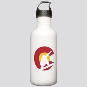 Colorado Snowboarder Stainless Water Bottle 1.0L