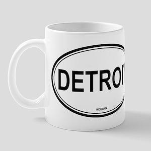 Detroit (Michigan) Mug
