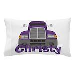 Trucker Christy Pillow Case