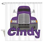 Trucker Cindy Shower Curtain