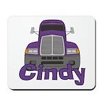 Trucker Cindy Mousepad