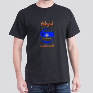 Volleyball Youve been served 6000 Dark T-Shirt