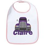 Trucker Claire Bib