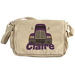Trucker Claire Messenger Bag