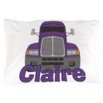 Trucker Claire Pillow Case