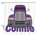 Trucker Connie Shower Curtain