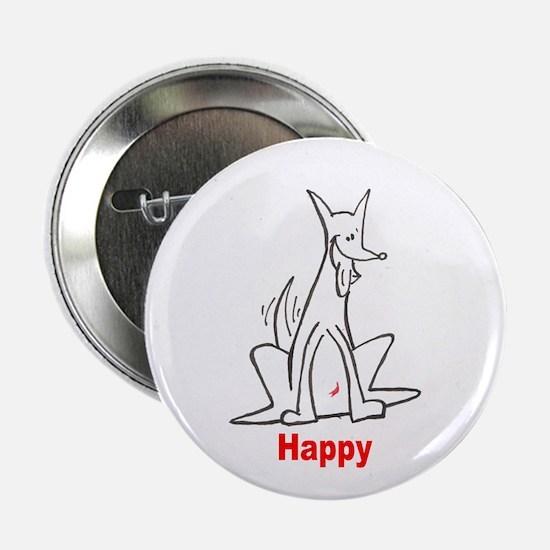 """Happy 2.25"""" Button"""