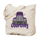 Trucker Courtney Tote Bag