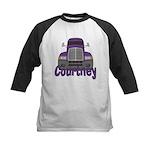 Trucker Courtney Kids Baseball Jersey