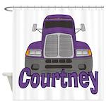 Trucker Courtney Shower Curtain