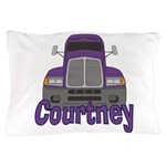Trucker Courtney Pillow Case