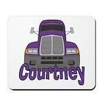 Trucker Courtney Mousepad