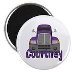 Trucker Courtney Magnet