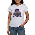 Trucker Crystal Women's T-Shirt