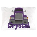 Trucker Crystal Pillow Case