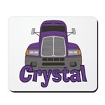 Trucker Crystal Mousepad