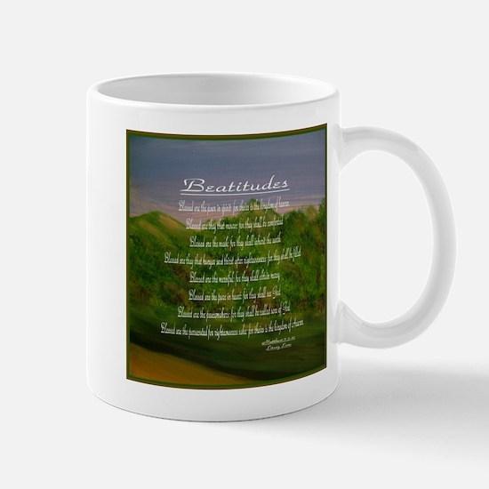 Beatitudes Green Mug