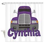 Trucker Cynthia Shower Curtain