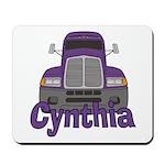 Trucker Cynthia Mousepad