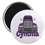 Trucker Cynthia Magnet