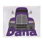 Trucker Dana Throw Blanket