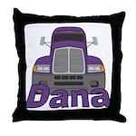 Trucker Dana Throw Pillow