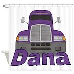 Trucker Dana Shower Curtain