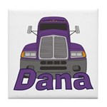 Trucker Dana Tile Coaster