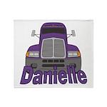 Trucker Danielle Throw Blanket