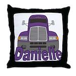 Trucker Danielle Throw Pillow