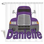 Trucker Danielle Shower Curtain