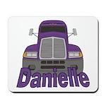 Trucker Danielle Mousepad