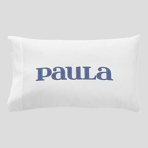 Paula Blue Glass Pillow Case