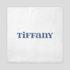Tiffany Blue Glass Queen Duvet