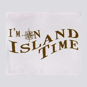Island Time Throw Blanket
