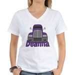Trucker Deanna Women's V-Neck T-Shirt