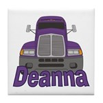 Trucker Deanna Tile Coaster