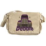 Trucker Debbie Messenger Bag