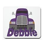 Trucker Debbie Mousepad