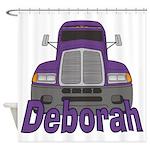 Trucker Deborah Shower Curtain