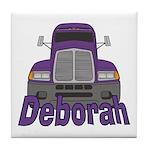 Trucker Deborah Tile Coaster