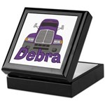 Trucker Debra Keepsake Box